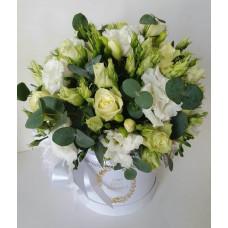Flower box - White wedding
