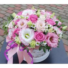 Flower box - Eustoma
