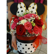Flower box - Minnie Mouse