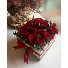 Flower box - Rose mini