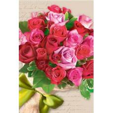 Postcard - Roses 8x12cm