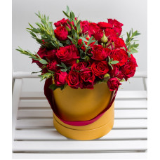 Flowerbox - Red roses